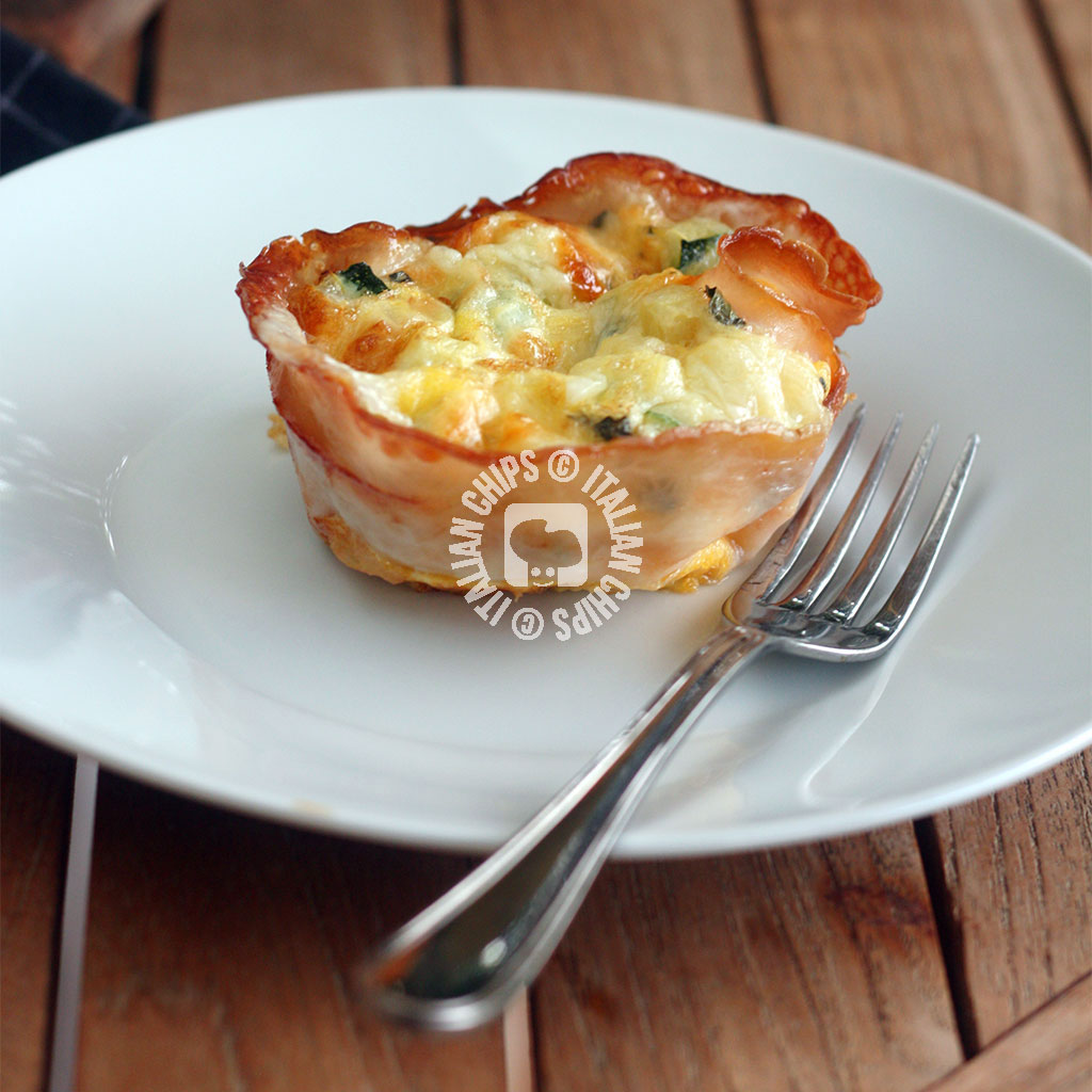 Zucchini and Eggs Baskets
