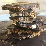 Quinoa and Chocolate Brittle