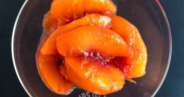 PEACH IN SYRUP WITHOUT SUGAR