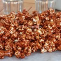 Luscious caramel popcorn recipe