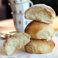 Appetizing brioche bread with no milk nor butter