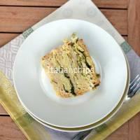 Delicious savoy cabbage cake