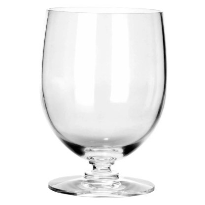 dressed water glass