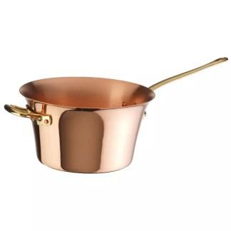 Sauté pan copper