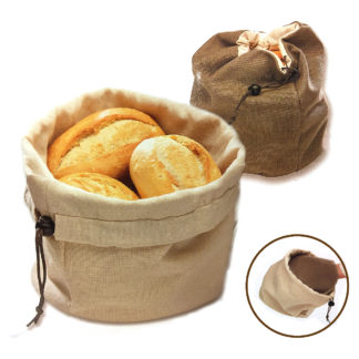 Bread basket with warming pillow