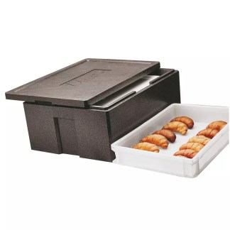 Insulated pastry box