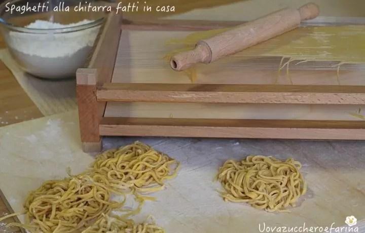 Spaghetti alla chitarra con telaio