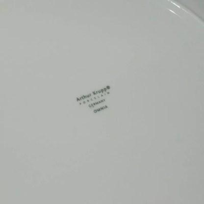 piatto piano porcellana