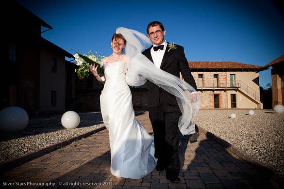 reception venue in Langhe vineyards Piedmont
