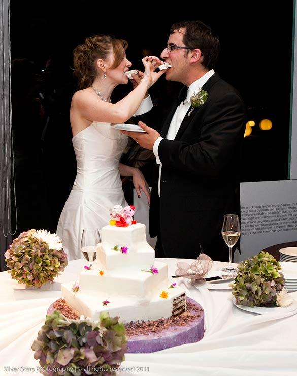wedding cake by Davide Palluda chef