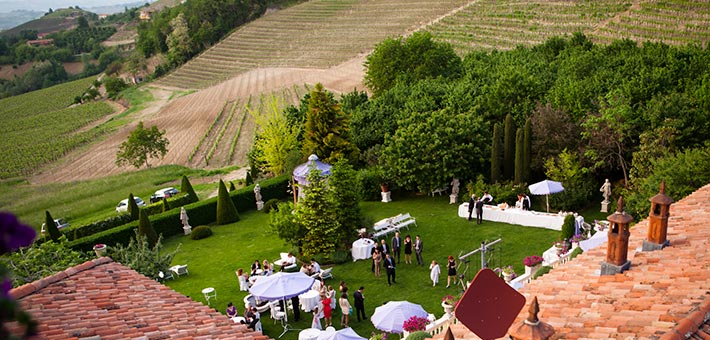 A Country Elegant Wedding in a Romantic Villa in Langhe