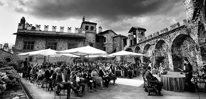 Choose a Castle in Piemonte for your elegant & romantic wedding in Italy