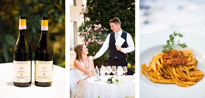 Back in Langhe - A Romantic Country Wedding over the vines