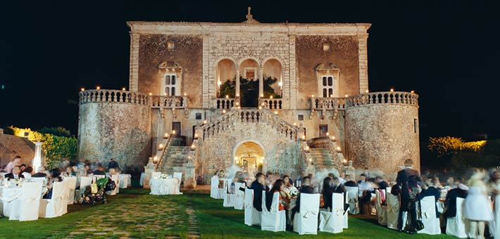 A Fairy Tale Medieval Wedding in Apulia