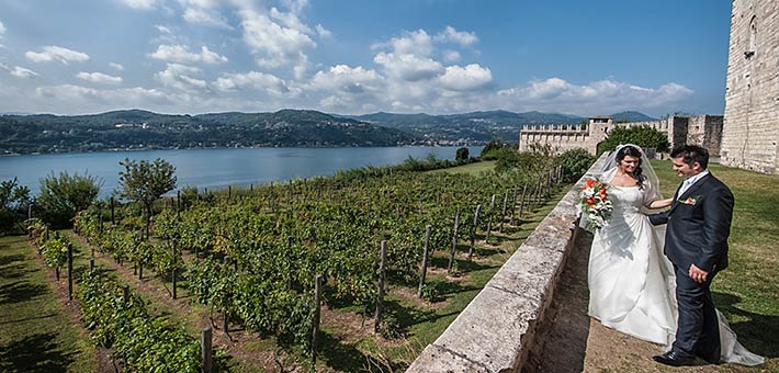 A vineyard wedding… on Lake Maggiore