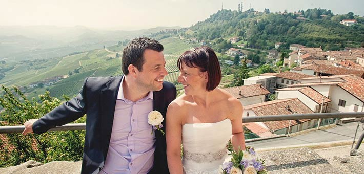Intimate Wedding in Piemonte Countryside Langhe - World Heritage of UNESCO in 2014