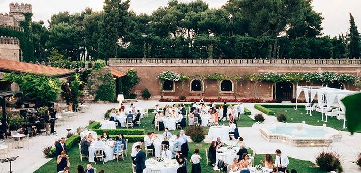 An Amazing Wedding in Salento Castle - Apulia