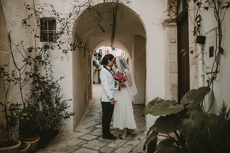 civil ceremony in Apulian Martina Franca