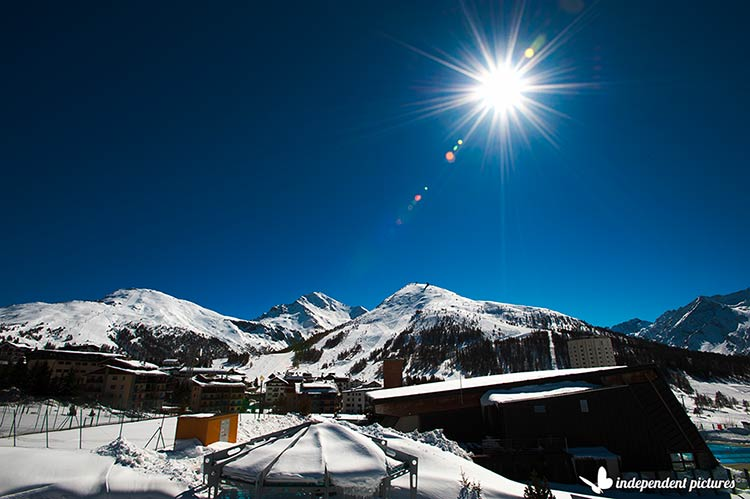 snow resort in Sestriere