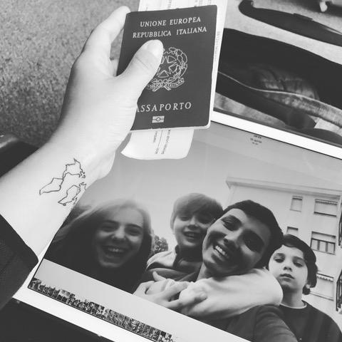 Silvia de GIorgi passaporto