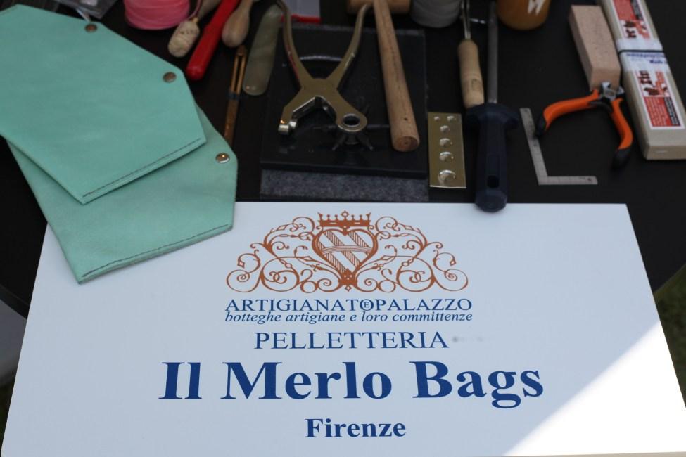 Il Merlo Bags ad Artigianato e Palazzo dettagli