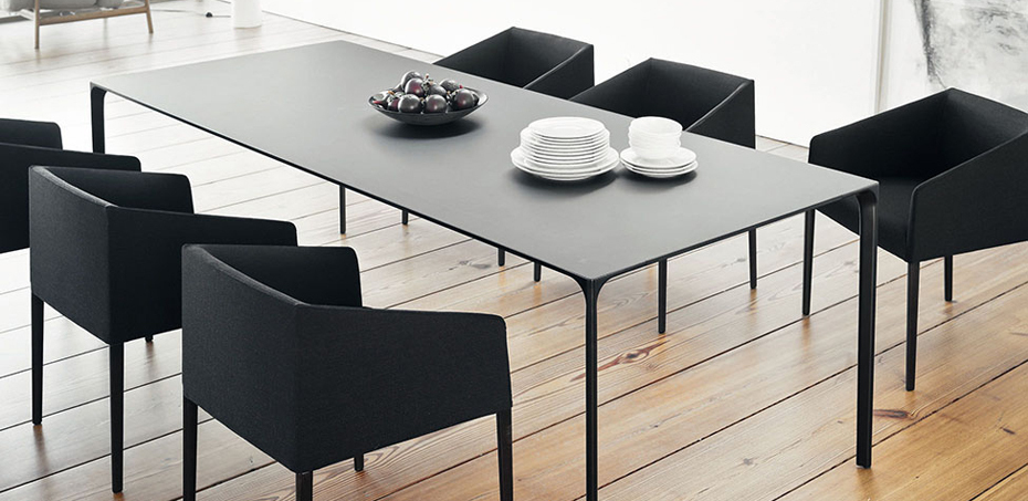 10 modern dining tables imagine your homes for Minimal table design