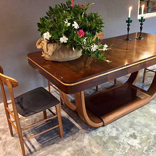 Dining Table In The Style Of Paolo Buffa, Italy, 60s