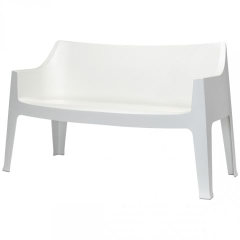 white plastic chairs card tables with italian design contract coccolona 1253 stackable technopolymer scab sofa suitable for outdoor