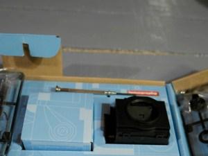 Il box specchio-otturatore preassemblato
