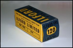 Ilford FP3 formato 120