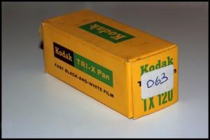 Kodak TRI-X Pan 320 formato 120