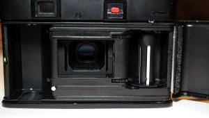 Il retro della fotocamera