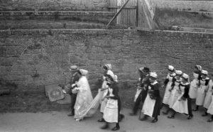 The procession of filets bleu