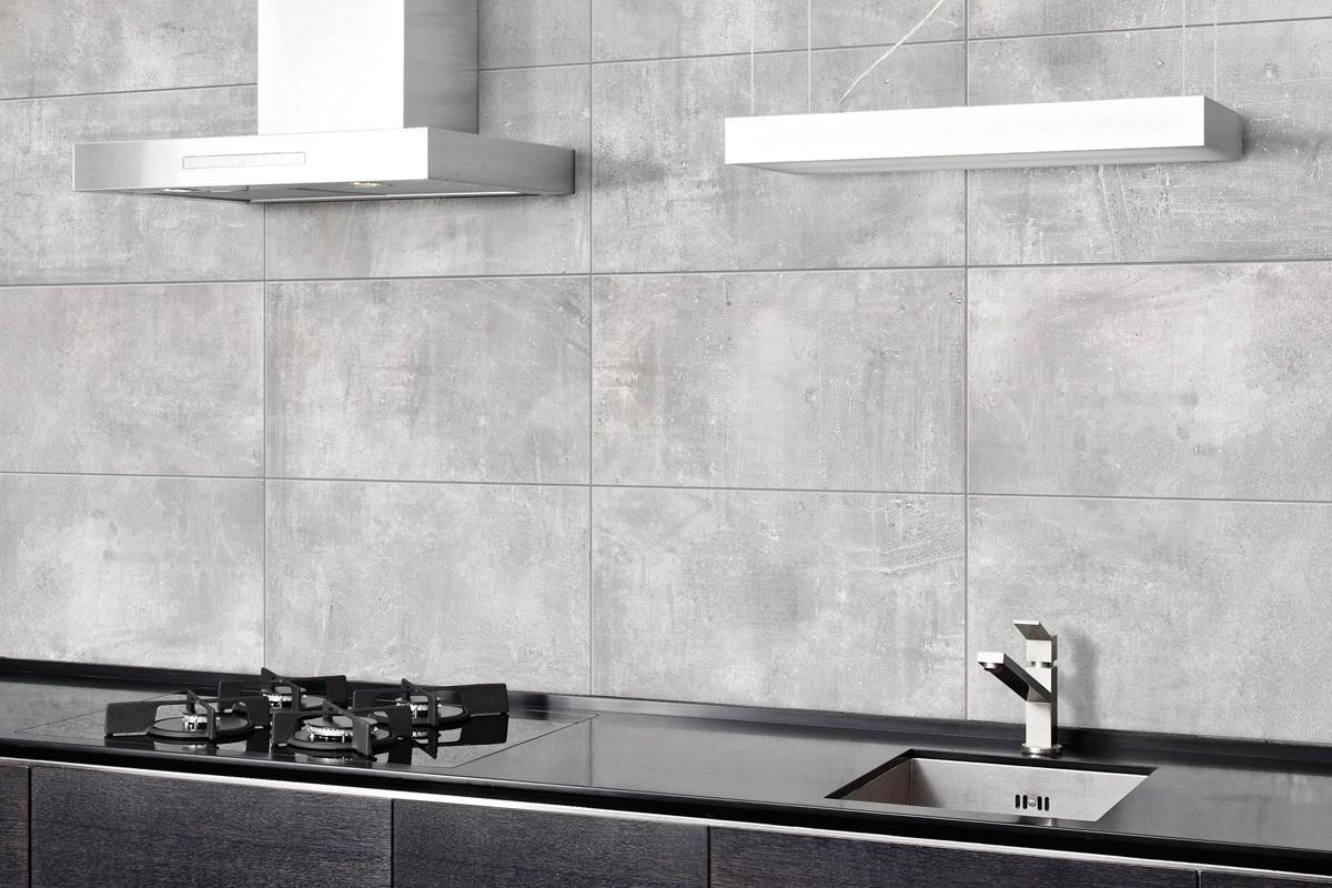 Gres porcellanato effetto moderno Nice Grigio 60x60