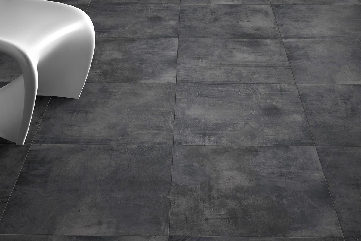 Gres porcellanato effetto moderno Nice Antracite 60x60 Ceramiche CRZ64