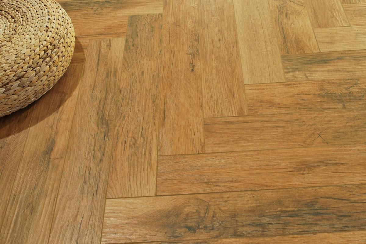 Gres porcellanato effetto legno Xilema Ciliegio 20x80