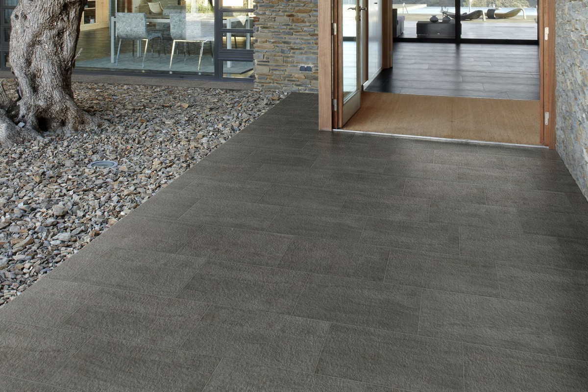Stone effect tiles  Grey  KA 7013 30X60 ROC