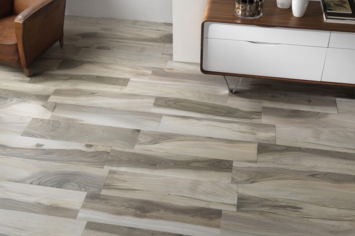 Gres porcellanato effetto legno Acadia Grigio 225x90 Ceramiche Saime