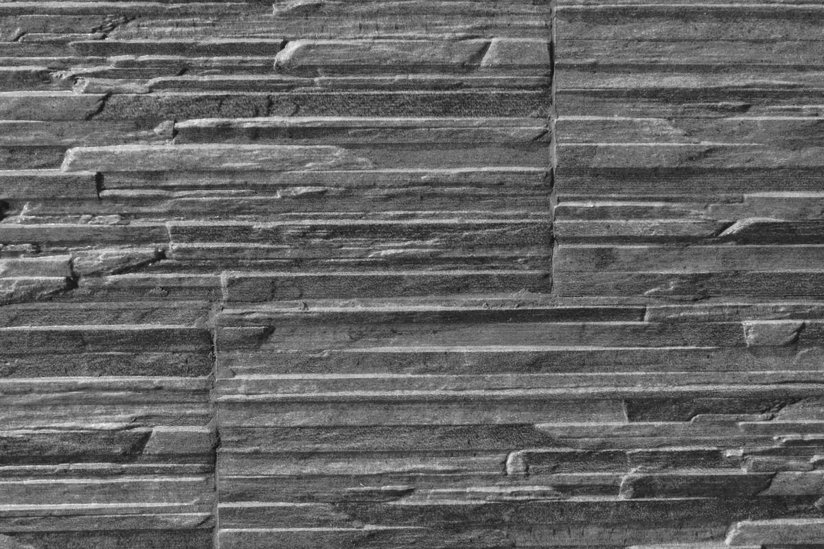Gres porcelain stone effect  Piana Grafite 16x42