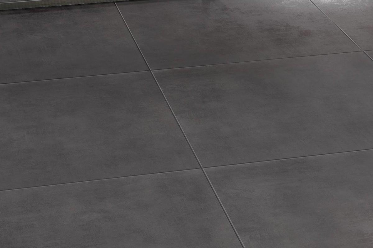 Gres porcellanato effetto moderno Lunare Antracite 60x60 Ceramiche