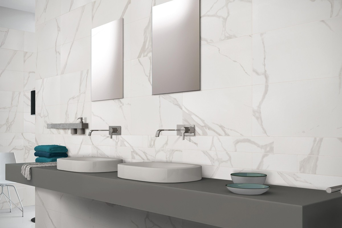Carrelage imitation marbre  Statuario Bianco 60x60 Ceramiche CRZ64