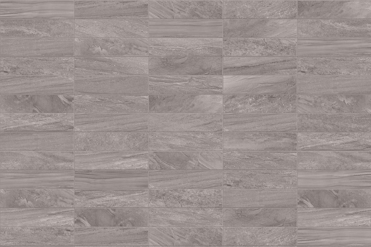 Gres porcellanato effetto pietra Morbida Grigio 30x60
