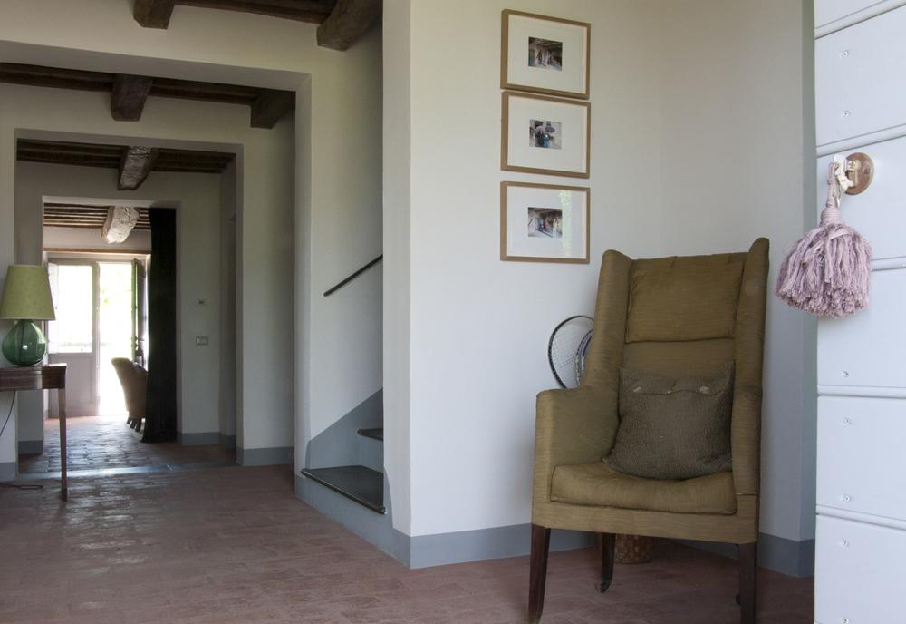 Casa San Nicola Holiday House Le Marche Italy Hallway