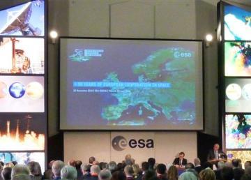 ESA: celebrazione dei 50 anni di cooperazione europea. Foto di Massimo Predieri