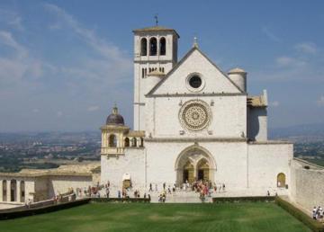 """""""2010-08-11 Assisi San Francesco basilica superiore (corrected)"""" di Blackcat - Opera propria. Con licenza CC BY-SA 3.0 tramite Wikimedia Commons - http://commons.wikimedia.org/wiki"""