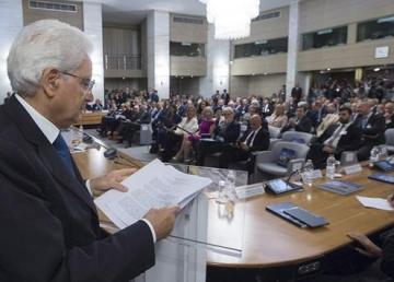 Il Presidente Mattarella alla XI Conferenza degli ambasciatori. Foto: Quirinale.