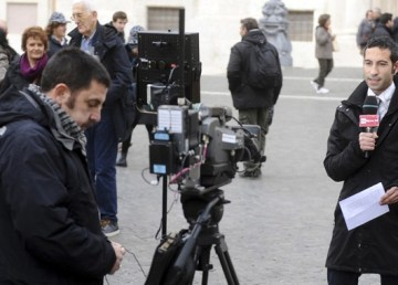 """Senio Bonini - RaiNews24 - Montecitorio"" di Niccolò Caranti"