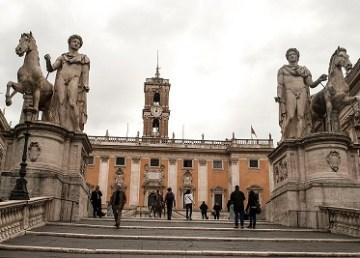 Dioscuri - Roma (foto di Diana Ringo)