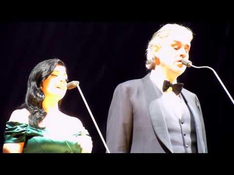 Andrea Bocelli O2 Arena 2014