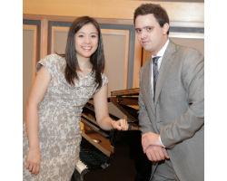Il duo Paolo Alderighi e Stephanie Trick all'Istituto Italiano di Cultura